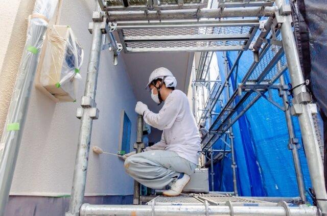 工事費用が100万円を超える外壁塗装の各工程の詳細や日数|坪数ごとの価格